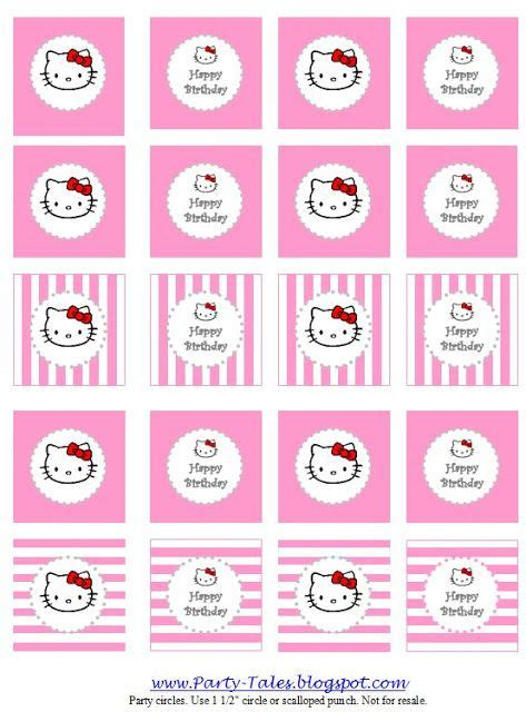 hello cupcake topper template tales printable hello circles