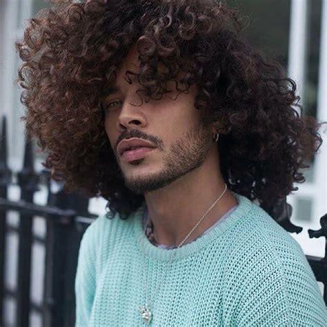 biracial male hair best 25 long curly hair men ideas on pinterest mens