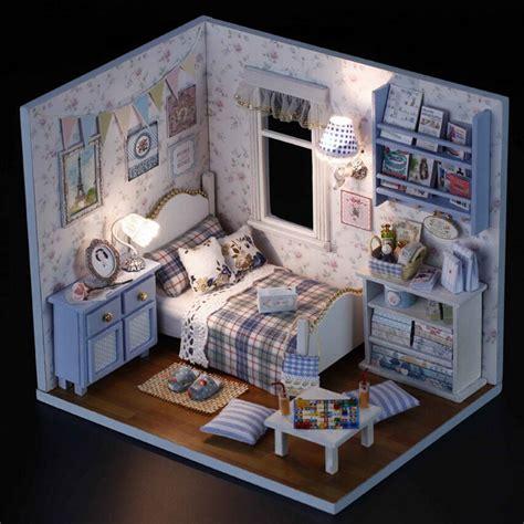 dolls house series 1pcs happy series diy wooden doll house room box handmade