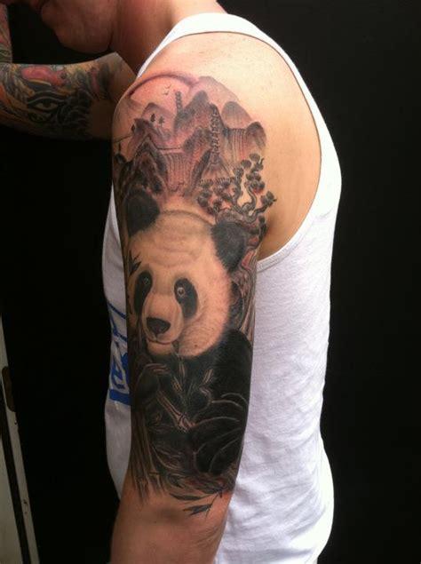 panda tiger tattoo panda tattoos askideas com