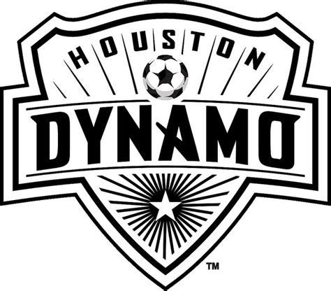 Houston Dynamo Logo black white dynamo logo space city blue