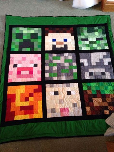 Minecraft Pillow Pattern by 17 Best Images About Minecraft Quilt On