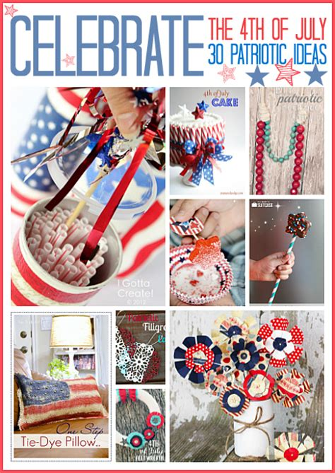 framed art diy decorating for july 4th celebrating holidays the 36th avenue 30 diy fourth of july projects the