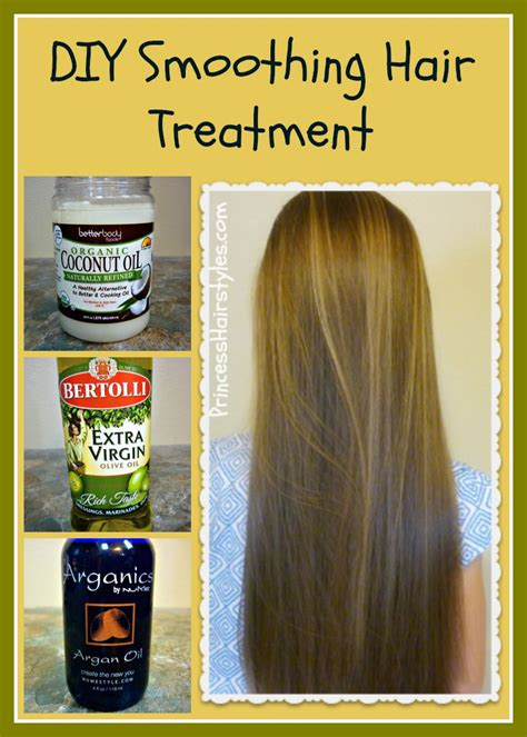 olive oil for fine hair diy smoothing hair treatment recipe and tutorial coconut