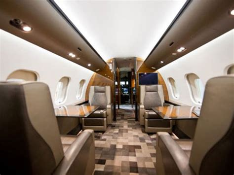 Global Express Interior by Bombardier Global Express Photo Gallery Business Standard