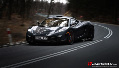 mclaren f1 successor p12 rendered