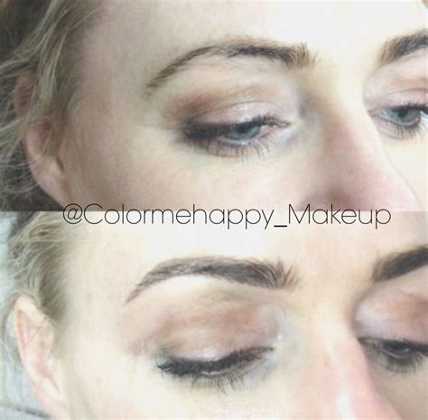 beautiful feather touch brow tattoos done by myself kelly 21 best semi permanent eyebrow hairstroke tattoo images on