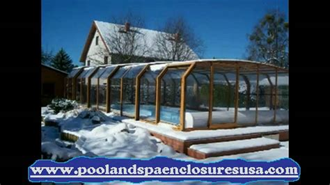 pool spa tub and sunroom winter enclosure slideshow