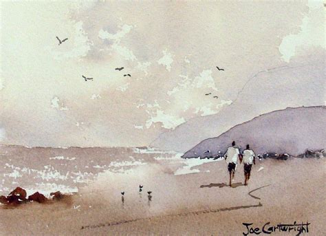 watercolor tutorial beach joe cartwright s watercolor blog simple beginners painting