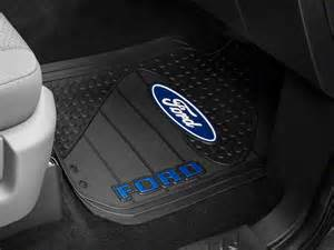 trushield ford logo f 150 factory floor mat t526386 09 15