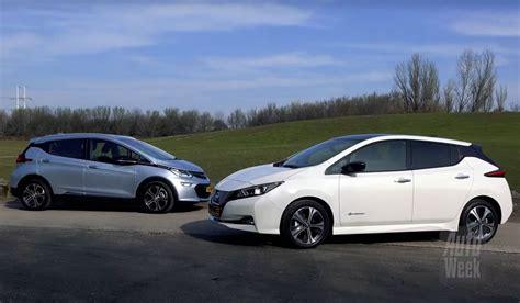 opel nissan test nissan leaf vs opel era e 2018 carblogger