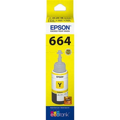 Epson T664 tinta epson t664 amarelo