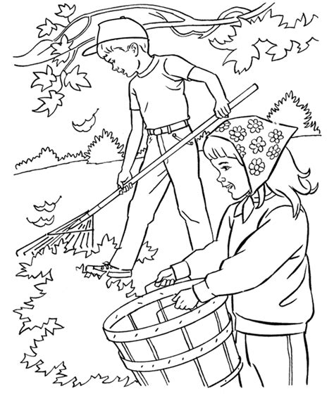 autumn coloring pages for preschoolers preschool fall coloring pages az coloring pages