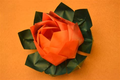 Traditional Origami Paper - origami lotus traditional