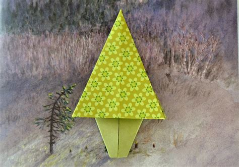 le origami le sapin en origami maman 224 tout faire