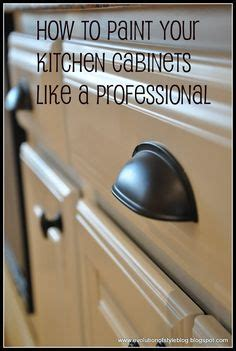 How To Paint Kitchen Cabinets Like A Pro Paint Colors On Pinterest Benjamin Chelsea Gray And Wall Colors