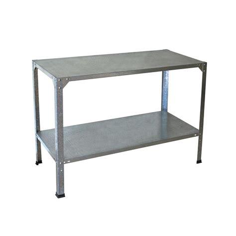 steel work bench palram 20 in x 45 in x 31 in steel work bench 701152