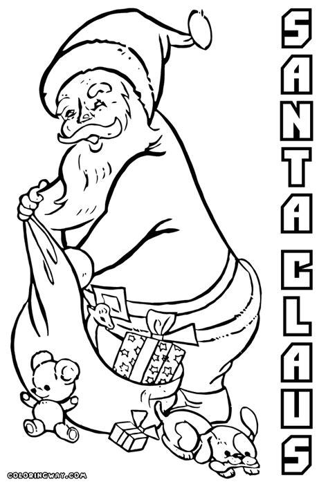 santa hockey coloring pages santa claus coloring pages coloring pages to download