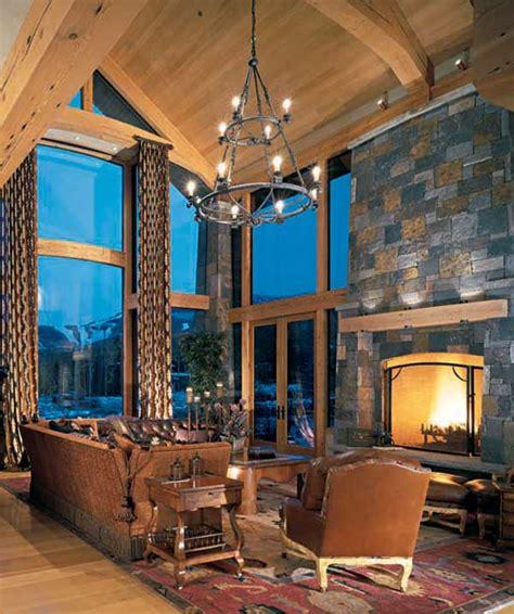 rustic lighting   timber frame home