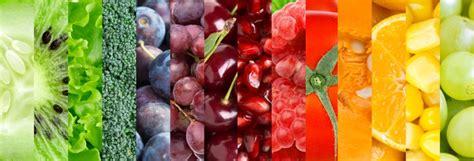 color con i propiedades de frutas y verduras por color