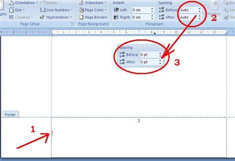 cara membuat nomor halaman atas dan bawah cara membuat nomor halaman di microsoft word