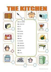 furniture in the kitchen worksheet free esl printable kitchen furniture kitchen furniture manufacturers