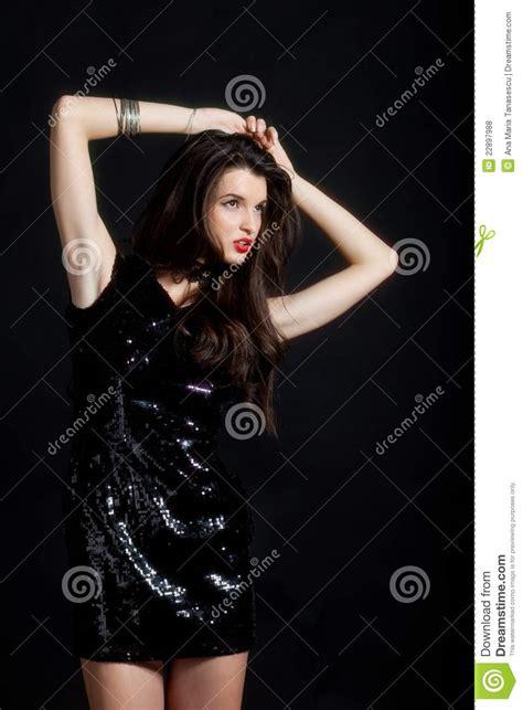 fashion model royalty free stock photography image 6953337 fashion model in sequin dress royalty free stock photos
