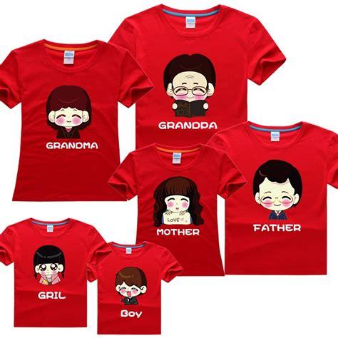 Design Tshirt Family | 2014 new free shipping fashion family set design summer