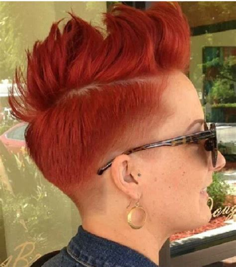 blonde pixie haircut tattoo pictures to pin on pinterest faded taper w rooster top short faded and tapered