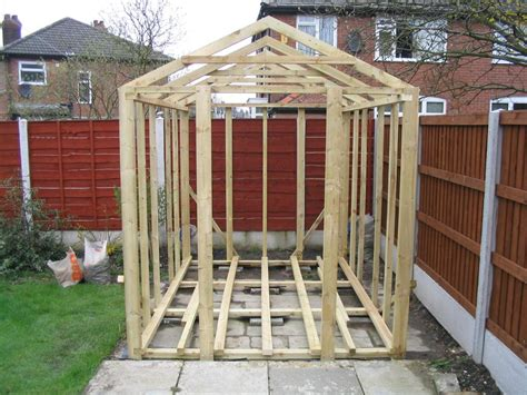 Constructing A Shed by How To Build A Shed On Skids Shed Blueprints