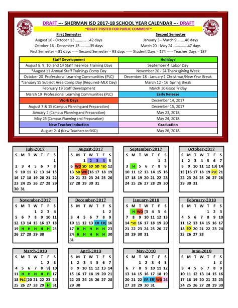 Proposed 2017 18 School Year Calendar Survey School Calendar 2017 18 Template