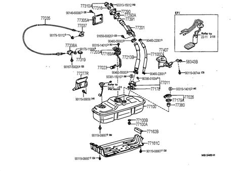 Toyota 4runner Parts 1990 Toyota 4runner Parts Auto Parts Diagrams