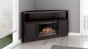 Corner Fireplace Entertainment Center Aragon 25 Quot Corner Media Electric Fireplace In Wenge