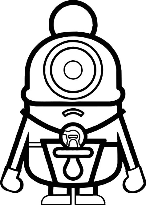 coloring pages cute minions cute minion coloring pages coloring pages