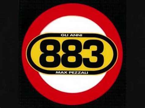 testo gli anni 883 max pezzali 883 6 1 sfigato 2012 feat two fingerz