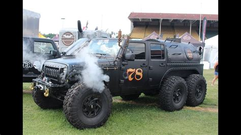 hauk designs steam jeep walk around of a steam powered jeep jk 6x6