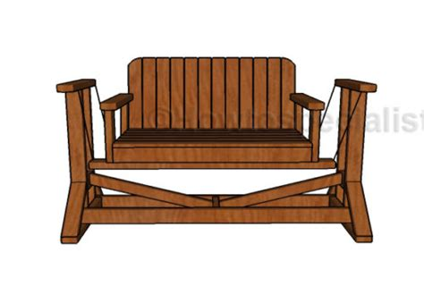 glider bench plans glider bench plans howtospecialist how to build step