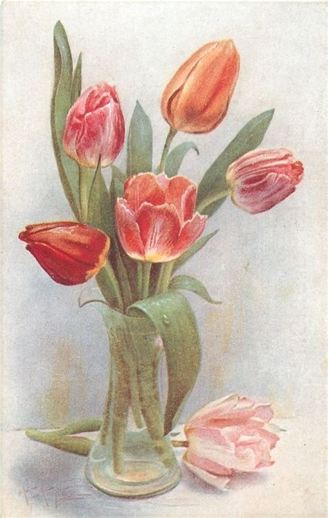 Tulips In A Vase by 1000 Ideas About Tulips In Vase On Tulip