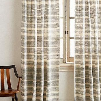 black and ivory striped curtains alston ivory gold curtain panels crate and barrel