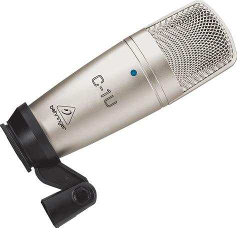 condenser microphone usb behringer c 1u usb studio condenser microphone