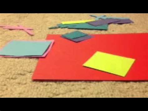 What Makes Up Paper - how to make a pop up poster