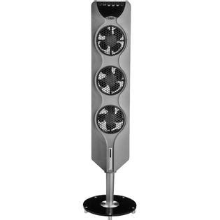 ozeri 3x tower fan ozeri ozf3 par 3x tower fan 44 quot with passive noise