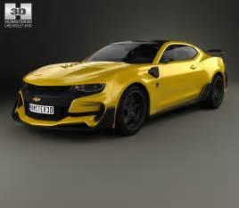 chevrolet camaro bumblebee 2017 3d model hum3d