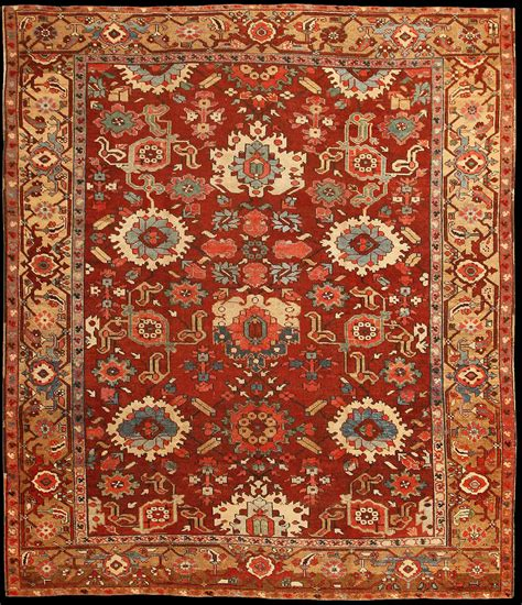 teppich muster antique serapi carpet with an allover floral pattern