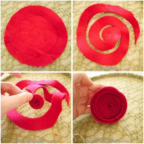 pattern for making felt flowers free wool felt applique patterns