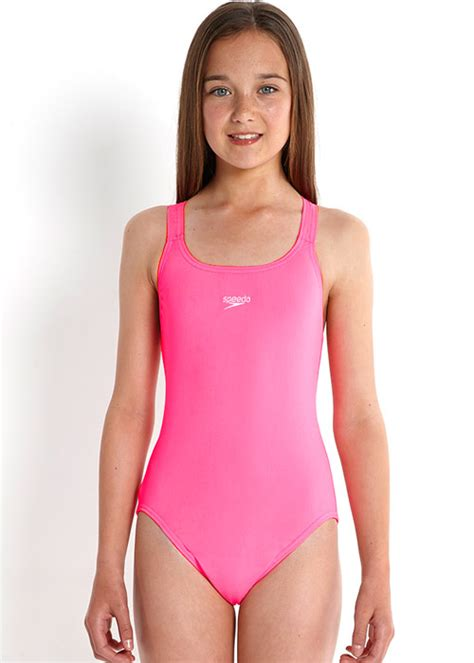 bathing suits speedo essential medalist flo pink swimsuit with free delivery
