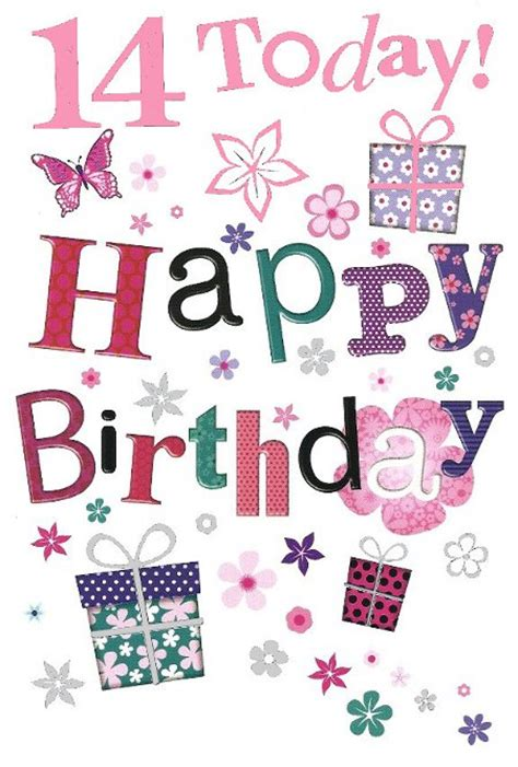 Birthday Quotes For 14 Year Happy 14th Birthday Birthday Wishes Images Sayings