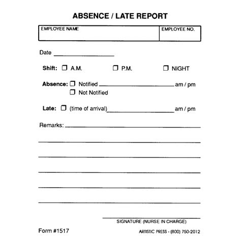 absenteeism report sle absenteeism report template 28 images employee absence