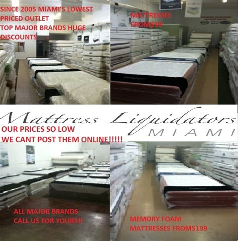 Mattress Liquidators Miami by Miami Mattress Liquidators Outlet In Miami Fl 33186