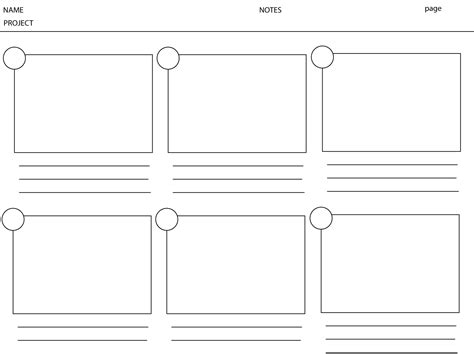 storyboarding template 2 learn 2